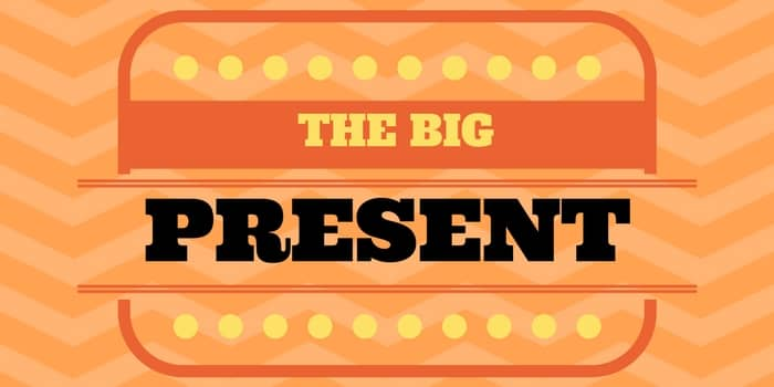 the very big English present tense