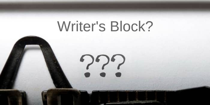 5 Cures For Writer's Block