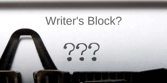 5 cures for writers block