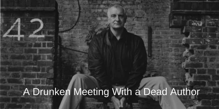 Douglas Adams A Drunken Meeting With a Dead Author
