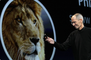 Apple Lion Steve Jobs