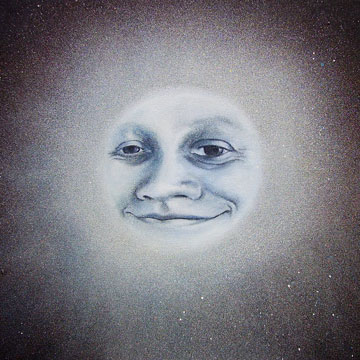 A Smile on the moon