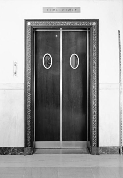 "elevator the doors and huge bear Freight elevator door specifications (standardized) doors within the size limitations shall bear underwriters laboratories, inc 1-1/2 hour class ""b"" labels."