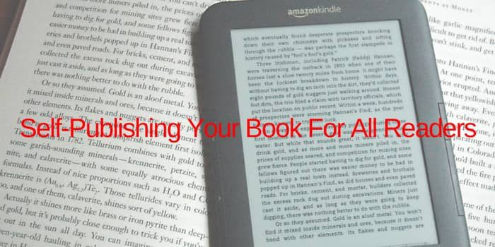 Self Publishing Your Book For Everyone