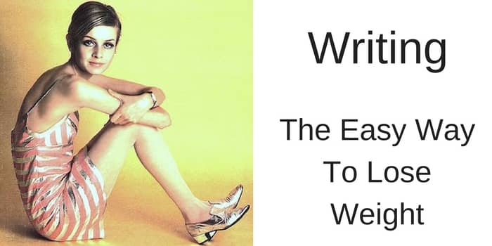 writing the easy way to lose weight