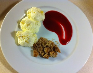 Deconstructed Cheesecake