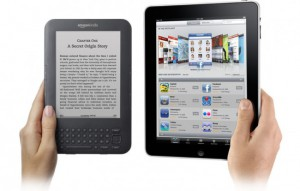iPad or kindle