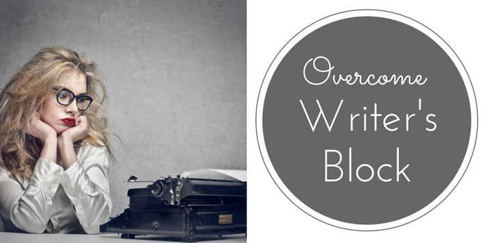 Overcome Writer's Block – The Joy Of Writing
