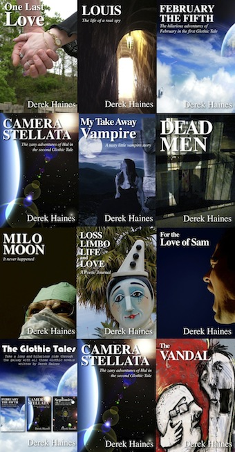 Derek Haines Book Covers