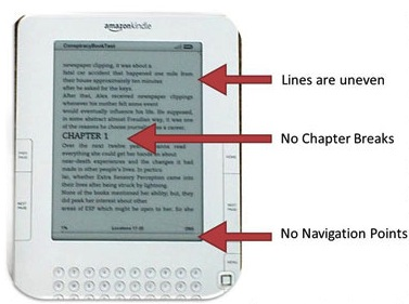 formatting an ebook