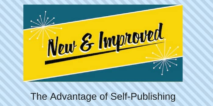 The Advantage Of Self Publishing