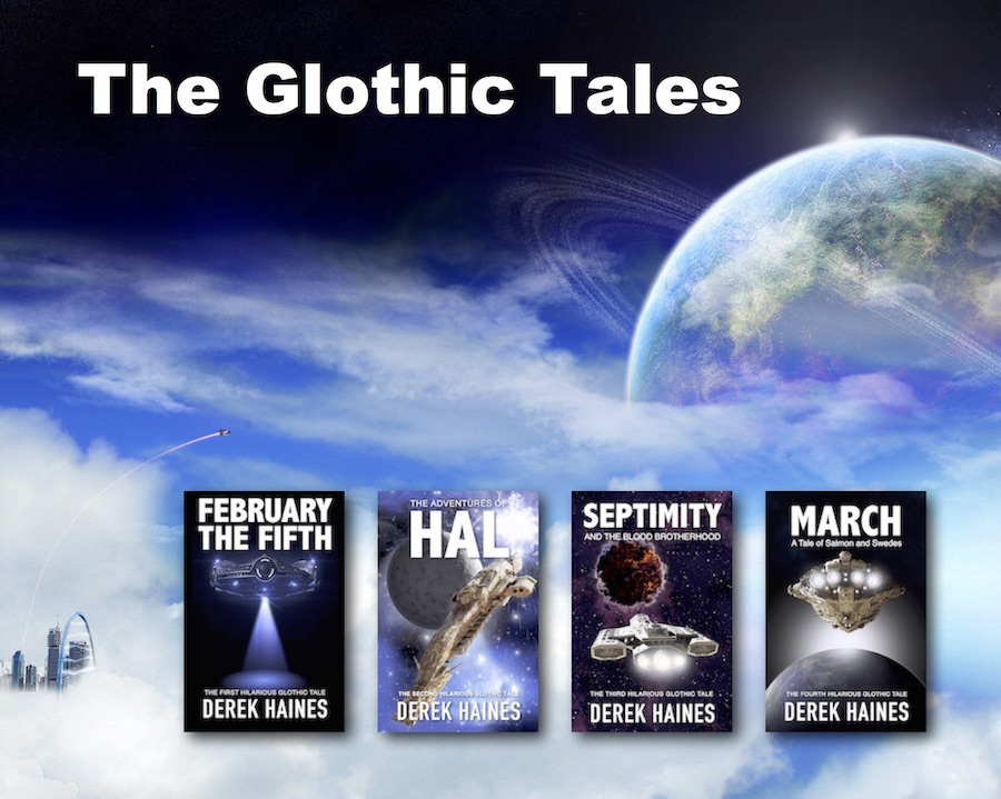 Welcome to Gloth - The Glothic Tales by Derek Haines