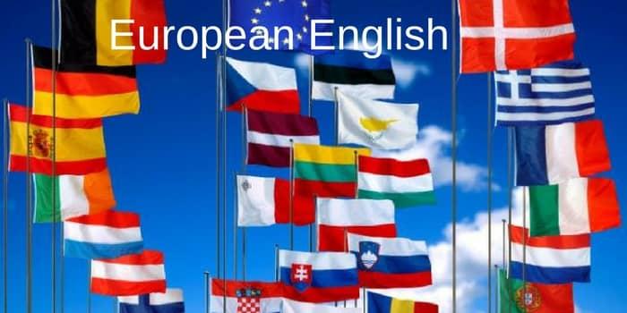 european english in use