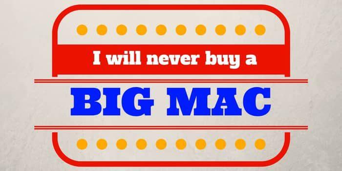 No Way Am I Buying A Big Mac!