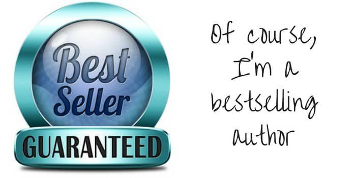 I Am An Award Winning Bestselling Author